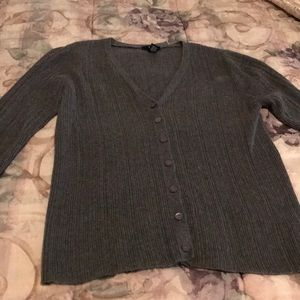 GAP Charcoal grey cardigan